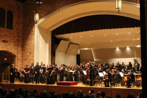 The Symphonic Orchestra performs their 2016 Spring Concert Program-Akin Auditorium at MSU